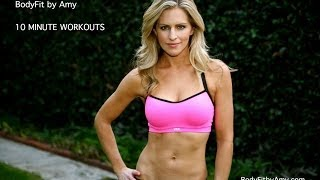 10 Minute Abs Workout by BodyFit By Amy