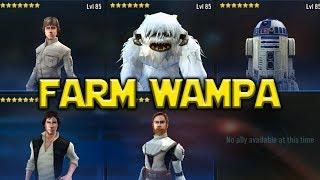 Star Wars: Galaxy Of Heroes - Farm Wampa - Anti Rebel Beast Gameplay