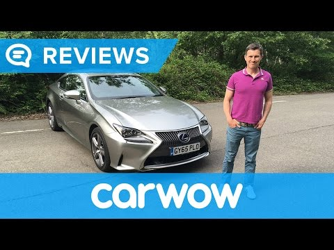 Lexus RC 2017 Coupe review | Mat Watson Reviews