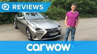 Lexus RC 2017 Coupe review | Mat Watson Reviews