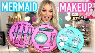 NEW TARTE MERMAID MAKEUP COLLECTION | FULL FACE FIRST IMPRESSIONS