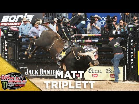 WORLD FINALS: Matt Triplett Rides Magic Poison in Round 2 | 2019
