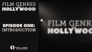 Ministry Of Cinema - Introduction · Film Genres And Hollywood · Episode One