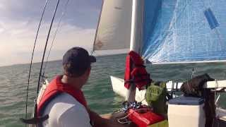 Sailing in Santa Ana Winds