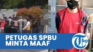 Petugas SPBU Minta Maaf seusai Kericuhan di SPBU Cipadung Kidul, Berjanji dengan Mengatakan Ini