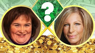 WHO'S RICHER? - Susan Boyle or Barbra Streisand? - Net Worth Revealed! (2017)