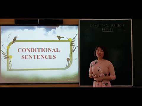 Tiếng Anh 9: Conditional sentences type 1, 2, Hoàng Thị Diệu Linh, Lục Yên