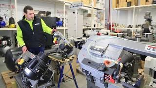 Ленточнопильный станок JET J-349V от компании ПКФ «Электромотор» - видео