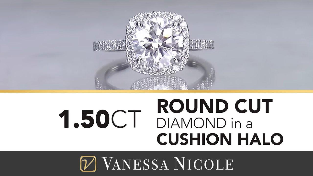 1.50ct Round Cut Diamond Ring