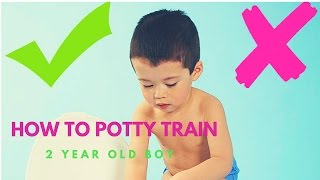 How To Potty Train a 2 Year Old Boy & Girl | Proven Method