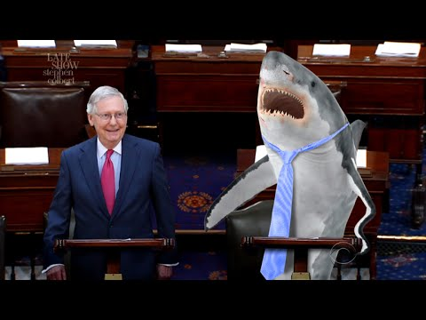 McConnell Vs. Shark: A Race To Pass Healthcare