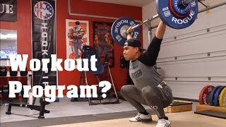 Current Workout Program | Merry Christmas | Garage Gym Athlete