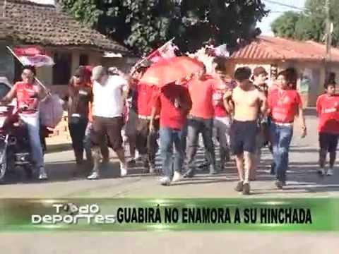 """""""GUABIRA - 'LA FURIA' AÚN NO CONQUISTA A SU HINCHADA"""" Barra: La Banda 86 • Club: Guabirá"""