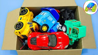 Assemble truck, rocket car, plane, concrete mixer toy - Kid Studio