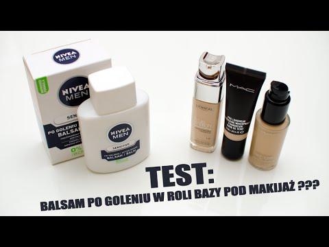 TEST: Balsam po goleniu NIVEA MEN jako BAZA POD MAKIJAŻ / czy to działa???