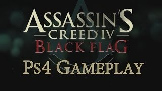 Assassin`s Creed IV Black Flag Gameplay PS4 - Nassau & Havana, Harpooning & Boar