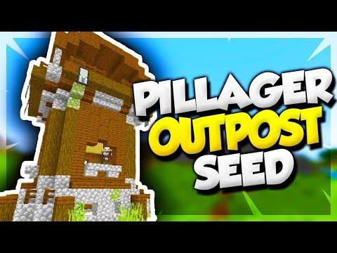 Minecraft 1 14 Pillager Outpost & Village Seed! - Minecraft Seeds