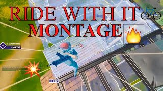 Ride With It 🛶 (FORTNITE MONTAGE)