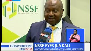 NSSF turns to Jua Cali sector to grow contribution