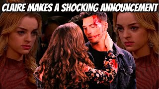 Days of our Lives spoilers: Claire makes a shocking announcement