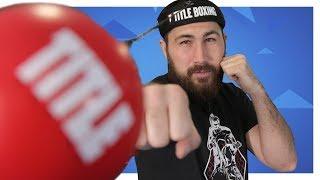 3 МЯЧА в 1 НАБОРЕ: Title Boxing Boxing Reflex Ball (файт болл)