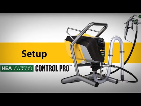 Wagner Control Pro Sprayer Setup Video
