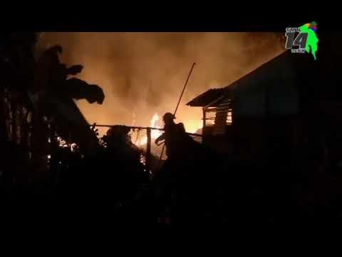 Un incendio afectó una bodega en Palmar Sur de Osa