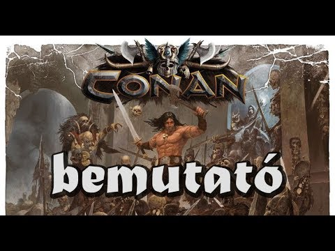 Conan - társasjáték bemutató - Jatszma.ro
