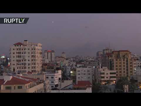 Israel's Iron Dome intercepts rockets launched from Gaza