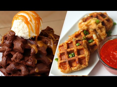 Waffle Lovers Only • Tasty Recipes