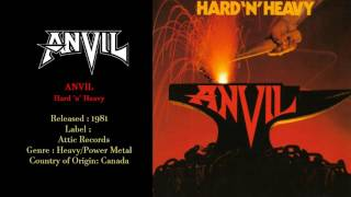 Anvil - Hard 'n' Heavy (1981) Full Album