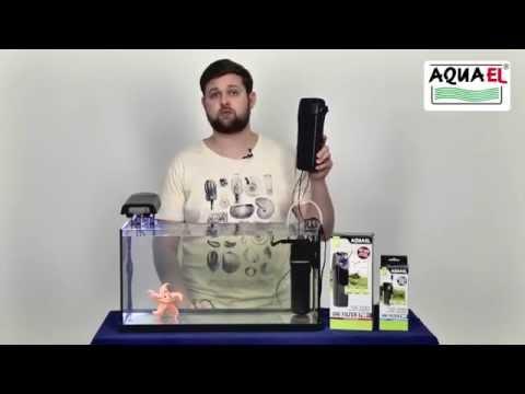 Как подобрать внутренний фильтр Aquael для аквариума