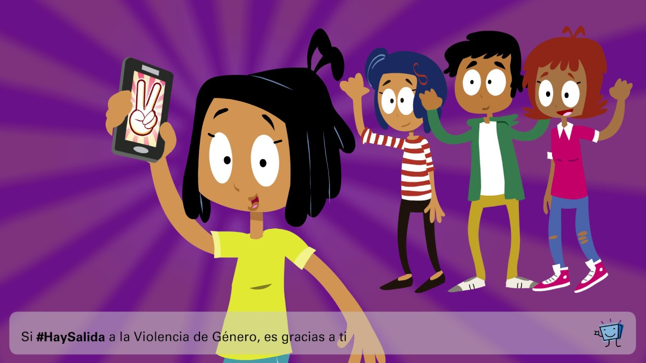 10 formas de violencia de género digital - #HaySalida - #Fuerzaenmivoz