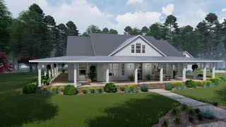 COUNTRY HOUSE PLAN 9401-00095