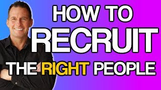😍How to Recruit -Your Target Market