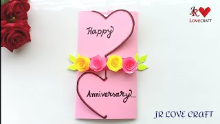 Beautiful Handmade Anniversary Card Idea / DIY Greeting  Cards For Anniversary