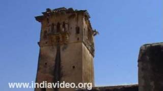Watchtowers at Hampi in Bellari district, Karnataka