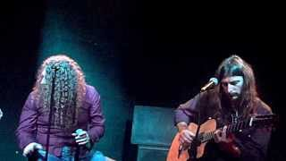 """ANGRA - """"Time"""" (acoustic version) - with Fabio Lione - live in São Paulo 25/08/2013 at Manifesto Bar"""