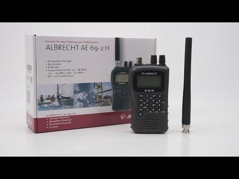 Scaner Albrecht AE 69-2H