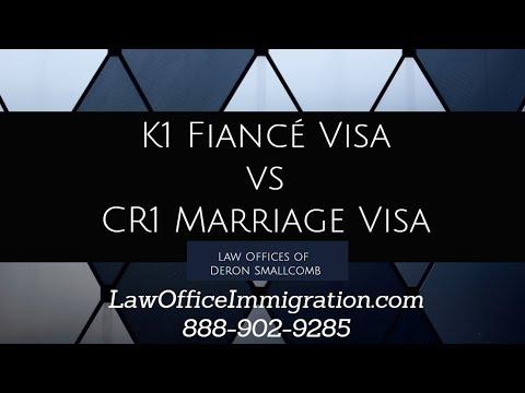 K1 Fiancé Visa vs. CR1 Marriage Visa