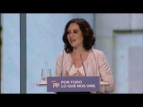 Intervención de Isabel Díaz Ayuso
