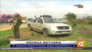 Citizen Extra : Running battle between NASA Supporters and the police