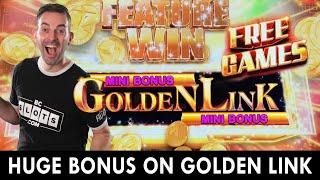 HUGE Bonus on GOLDEN LINK ➡ Double Progressive Jackpot at Hard Rock Oklahoma