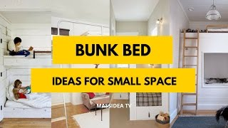 50 + Beautiful Bunk Bed Ideas For Small Space 2017