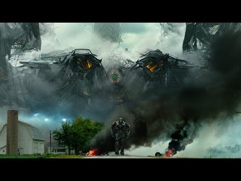Transformers: Age of Extinction trailer, phê lòi mắt