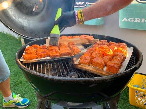 Salmone nel barbecue: ecco come cucinarlo