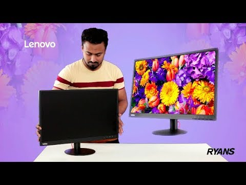 Lenovo Think Vision E24-10 23.8 Inch WLED Backlight FHD IPS Panel Anti-Glare Display Monitor