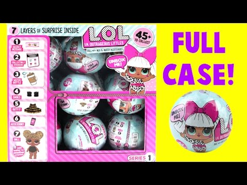 MEGA LOL Doll Case Unboxing! I Find a Rare! 7 Layers of Surprises!