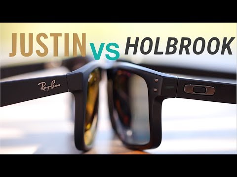 Ray-Ban Justin vs Oakley Holbrook