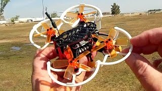 GoolRC G90 Pro Brushless Micro FPV Racer Drone Flight Test Review